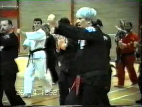 Kenpo High Street - Ed Parker seminar in Dublin, Ireland in 1989