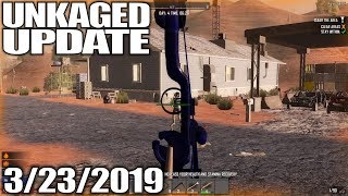 STREAMING 7 DAYS TO DIE & OUTLAWS OF THE OLD WEST TALK | UnKaged Update | 3/23/2019