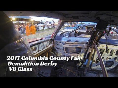 2017 Columbia County Fair Demolition Derby V8
