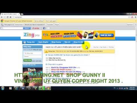 SHOP GUNNY | HACK XU GUNNY II | CƯỜNG HÓA GUNNY VIP