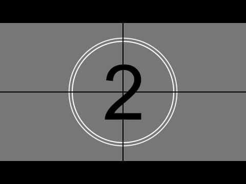 movie countdown with sound hd clear no effects