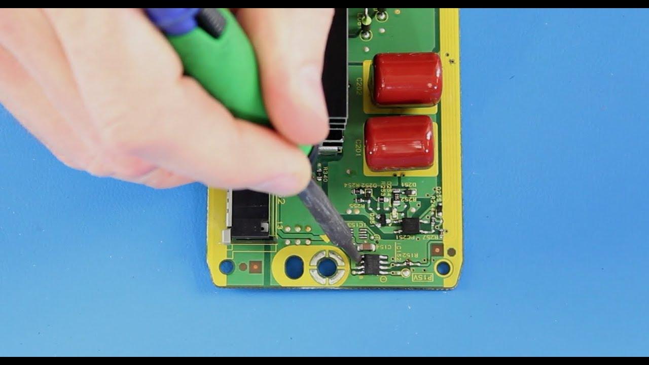 Panasonic Plasma TV Repair   TNPA5623 SS Board Component Repair Kit TV Not  Turning On 8 Blink Code   YouTube