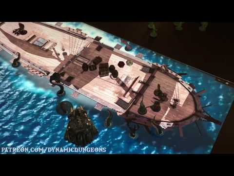 New animated warship, beach and pure ocean scenes - YouTube