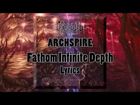 Archspire - Fathom Infinite Depth (Karaoke/Lyric Video)