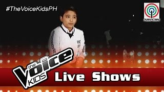 The Voice Kids Philippines 2016 Live Semi-Finals: JC of Team Sharon Journey
