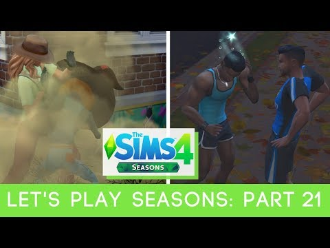 Let's Play: The Sims 4 Seasons - Part 21 - WHO YOU FIGHTING? |