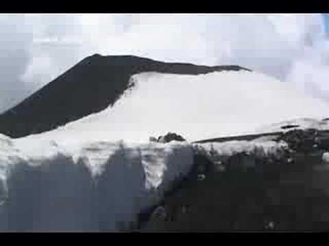 Travel up Mount Etna, Sicily