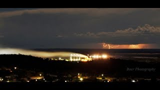 27 April 2018 Lightning in the distance