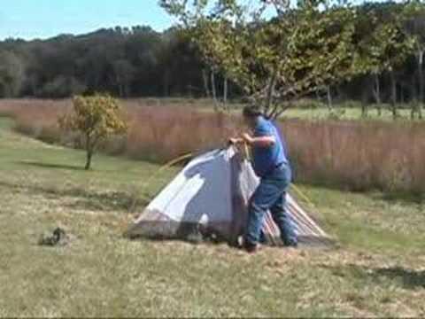 How Not to Put Up A Tent & How Not to Put Up A Tent - YouTube