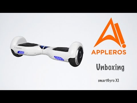 smartGyro X1, Unboxing