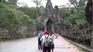 Dewdrops at Dawn at Angkor.