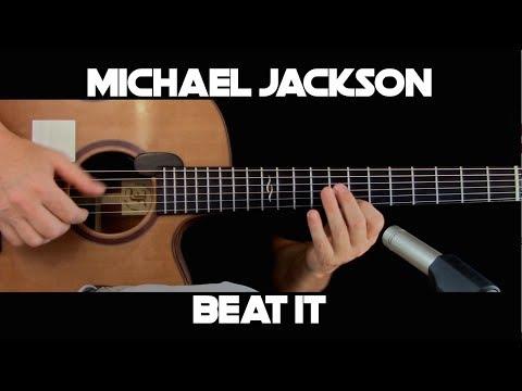 Michael Jackson - Beat It - Fingerstyle Guitar