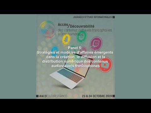 Panel 5 : Stratégies et modèles d'affaires émergents