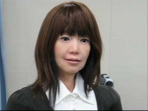 Hiroshi Ishiguro's Robots - Osaka 2008