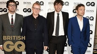 Blur Accepts The Band Of The Year Award   Men of the Year Awards 2015   British GQ