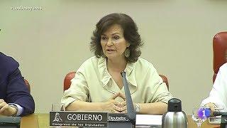 Carmen Calvo (ministra de Sánchez):
