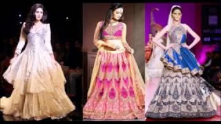 Модные платья 2017-2018 - индийские стильные новинки
