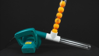 7 Awesome Science Tricks Using Air Blower