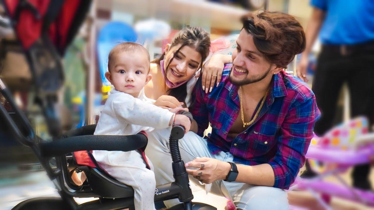 Raja ne ki apne liye khud shopping | Khushi punjaban | Vivek Choudhary -  YouTube
