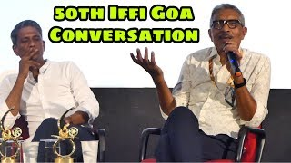 Conversation Session Real Life to Reel Life With Prakash Jha & Adil Hussain | IFFI 2019
