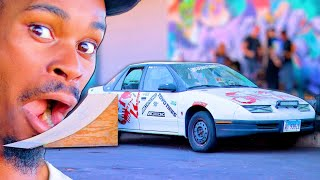 skateboarding-on-a-hoonigan-drift-car-skate-everything-ep-146