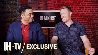 The Blacklist Season 7 (NBC) Diego Klattenhoff & Harry Lennix Interview | NBC Fall Shows 2019