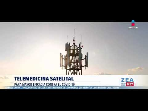 Telemedicina satelital apoyará a lucha contra Covid-19 | Noticias con Francisco Zea