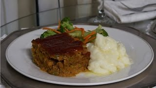 Fall Comfort Food Vegetarian Meatloaf