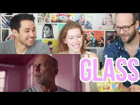 GLASS - Trailer - REACTION!