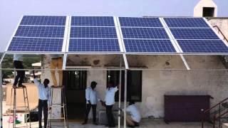 4KW Rooftop Installation at Vaatsalya Hospital Ongole, AP