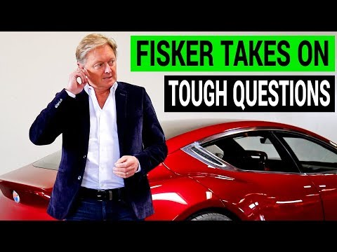 Henrik Fisker Takes On Tough Questions: Solid State Batteries, EMotion EV, etc!