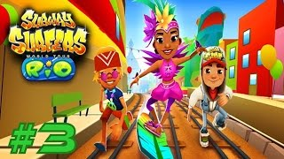 Subway Surfers: Rio - Samsung Galaxy S6 Edge Gameplay #3