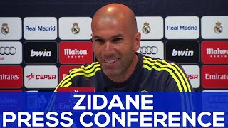 "Zidane: ""la liga is not lost, we'll keep fighting"" 