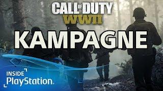 Call of Duty: WWII - Details zur Singleplayer Kampagne (PS4, Deutsch)