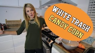 COOKING TUTORIAL: WHITE TRASH CANDY CORN // Grace Helbig