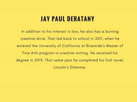 Jay Paul Deratany Master of Fine Arts