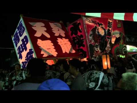 Violencia en Japon, hasta en las mejores familias !  matsuri festival de suibara