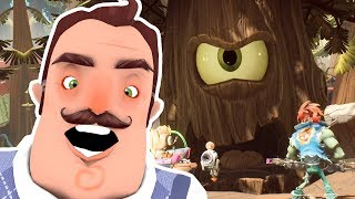 Hello Neighbor Plants vs Zombies Final Boss Dreadwood