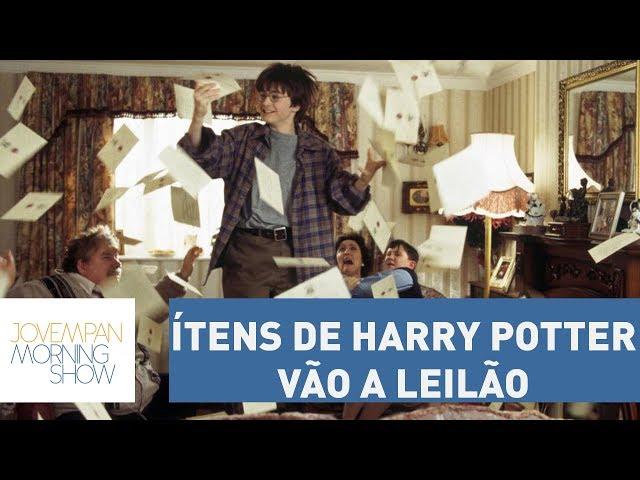 Carta de Hogwarts e ítens de Harry Potter vão a leilão | Morning Show