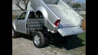 TATA XENON 4X2 OR 4X4 SINGLE AND DOUBLE CAB RIBALTABILE TIPPER KIPPER BENNES VOLCADOR