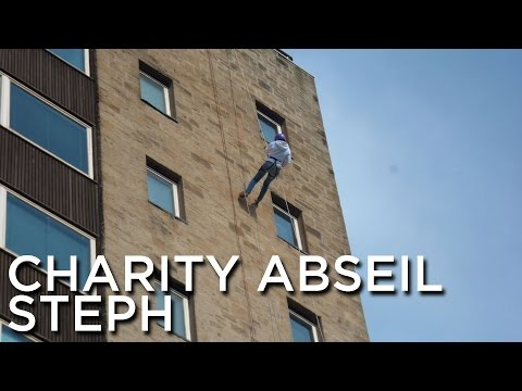 2012-08-25 'Steph Abseiling For Maggies Cancer Caring Centres'