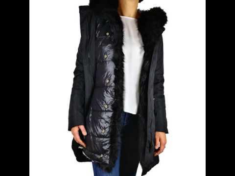 competitive price 2dfe8 b0d7c Stupendo ed elegantissimo #PARKA donna con #GILET interno #PIUMINO bordato  con #PELLICCIA