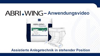 Produktvideo zu Abena Abri-Wing Premium Special Inkontinenzwindelhose