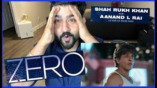 Zero Official Trailer   Shahrukh Khan, Anushka, Katrina, Anand Rai   Reaction RajDeepLive  