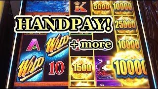 NEW SLOT: HANDPAY ON WILD WILD NUGGET + MUNCHKINLAND BONUS