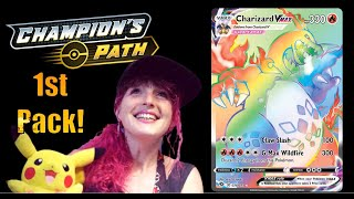Champions Path ETB x 2 - Live Opening and Pokemon Chat...We Got One!