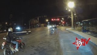 Police Chase Motorcycle Stunt Rider Caught Riding Circle Wheelie Runs From Cops 5.0 - Blox Starz TV