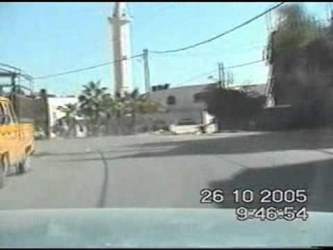 מרדף רכב גנוב בשטחי הרשות הפלסטינאית .