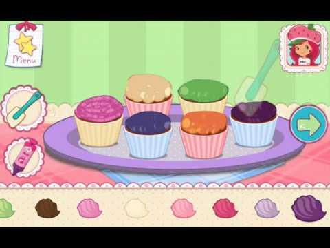 Strawberry Shortcake Bake Shop Princess Cake Games Part  Online