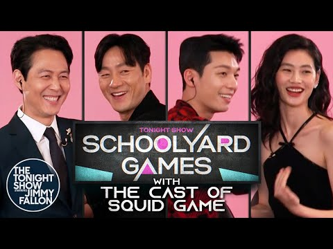 Schoolyard Games with the Cast of Squid Game   The Tonight Show Starring Jimmy Fallon